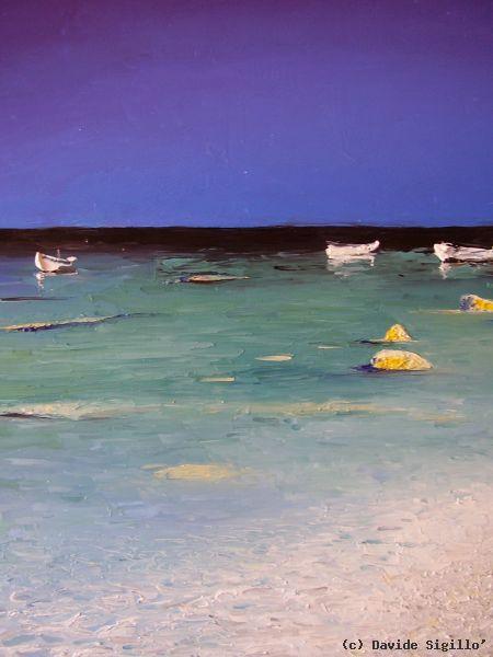Davide Sigill U00f2  Gallery Dei Dipinti  Marine Ad Olio